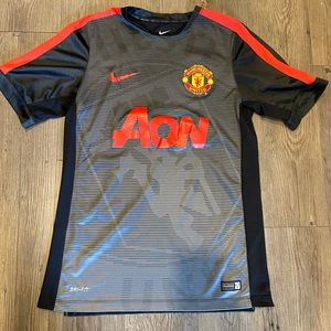 Manchester United Nike soccer jersey